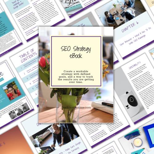 eBook SEO Strategy Square